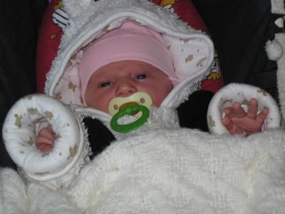 26.11.2009 - auf dem Weg zur Hebamme
